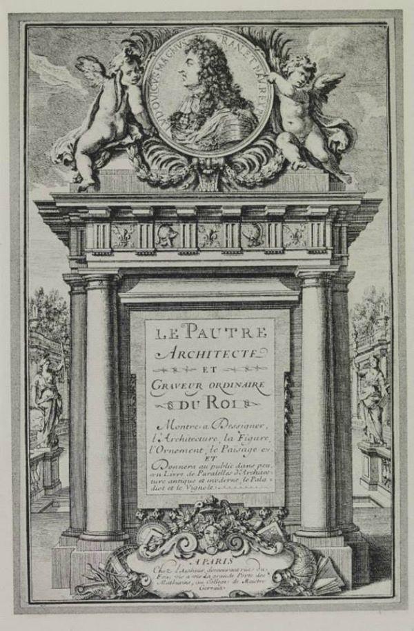 carte d 39 adresse d 39 antoine le pautre 1621 1679 architecte et graveur ordinaire du roi. Black Bedroom Furniture Sets. Home Design Ideas