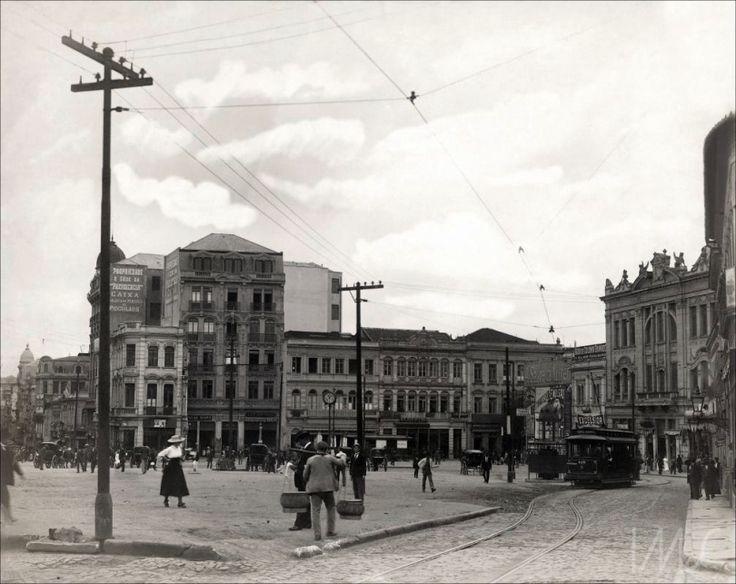 1912 - Largo da Sé - Vincenzo Pastore - IMS