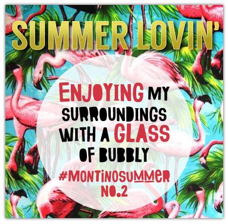 #SummerLovin #Bubbly #Summer