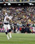 Broncos Patriots Football - Rob Ninkovich, Peyton Manning, Joel Dreessen