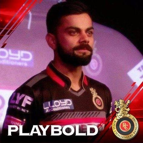 Change profile picture to support Royal Challengers Bangalore