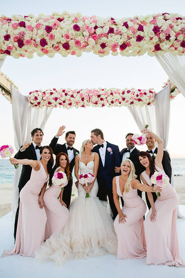 All Together Now from Barbie Blank's Wedding Album  This gang looks like they are ready to party!