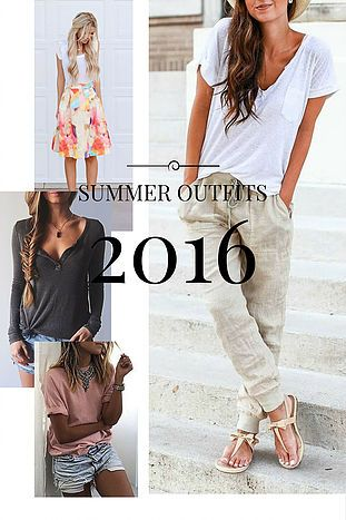 DIY Denmark | Design Your Life | Inspiration - Summer Outfits 2016 | Click to see these awesome summer styles