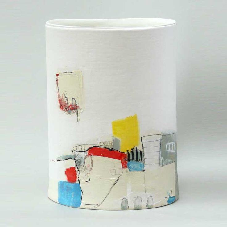 Kate Wickham: Ceramics Products, Cavaliero Finn, Ceramics Art, Kate Wickham, Ceramics Vessel, Ceramics Surface, Ceramics 3D, Clay Ceramics, Ceramics Inspiration