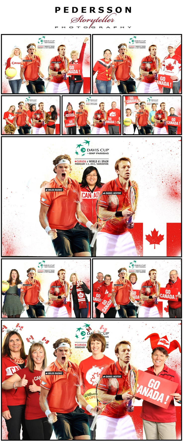 Our favourite pics from the FanZone at Davis Cup 2013 Canada vs. Spain