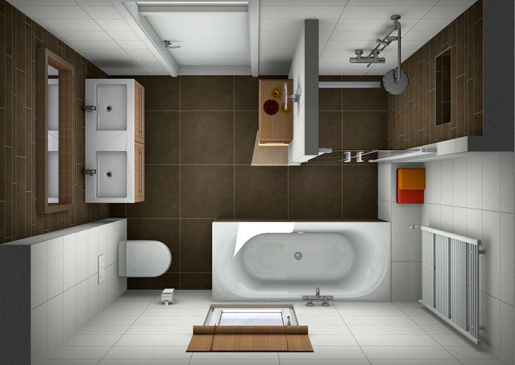 25 beste idee n over kleine badkamer ontwerpen op for Eigen kamer ontwerpen 3d