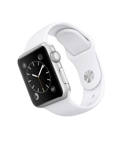 Apple Watch Sport 42mm Silver Aluminium Case with White Sport Band - Intelligente Uhr - Wi-Fi, Bluetooth, MJ3N2FD/A 349,00 Euro. Über das Bild gehts zur Bestellseite!