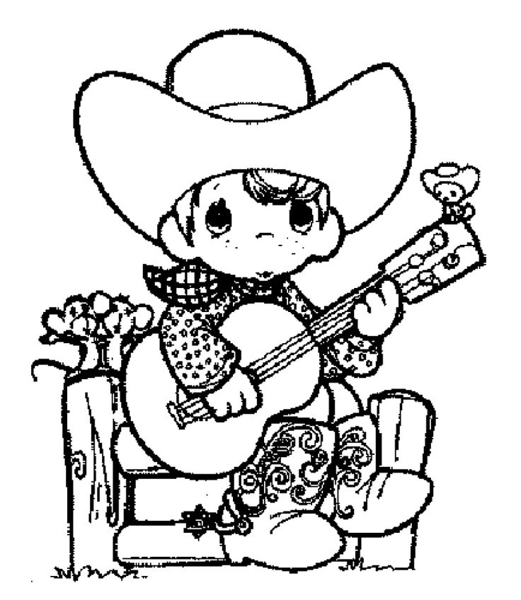 free cowboy coloring page cowboy coloring pages 7 printable coloring page