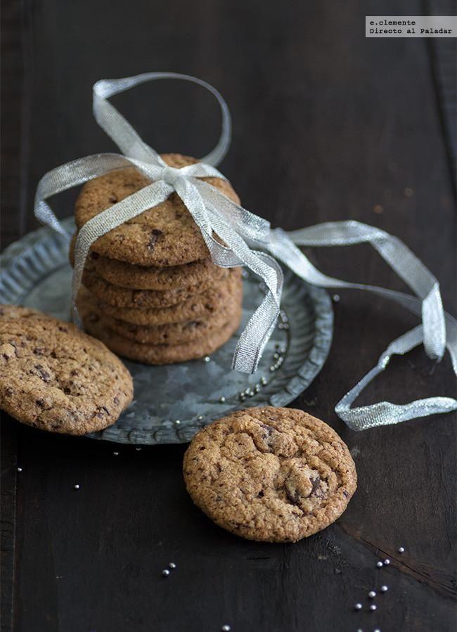 Cookies de chocolate y jengibre.Receta con fotos del paso a paso y sugerencias de presentación. Consejos de elaboración. Recetas de navidad. Rece...