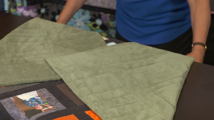 How to Fold a Quilt to Prevent Damage | NQC  #LetsQuilt