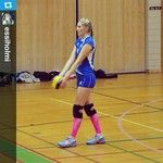 #Repost from @sc Holmi with @repostapp #volleyball #athlete #gameday #zeropoint #zpcompression #zpcalfsox #pink #feelitreal #getoutmore #se...