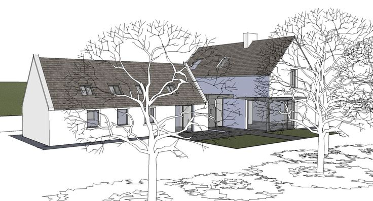 The extension and renovation of the Clients' family cottage in rural Cork.
