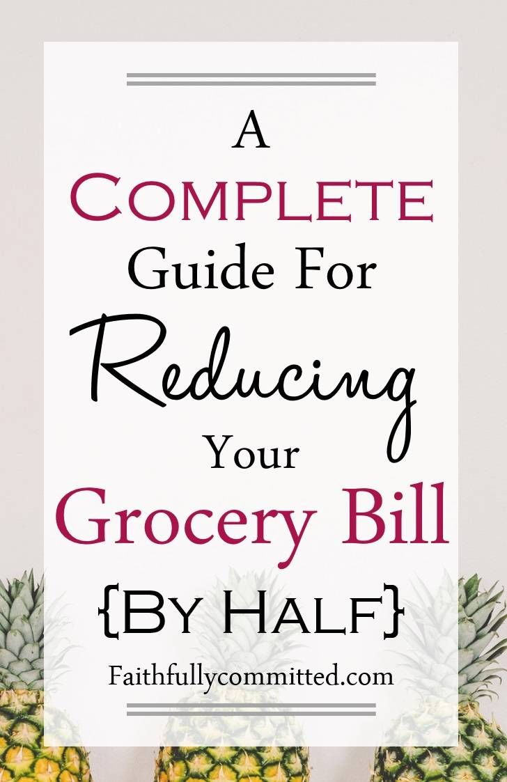 If you're looking for ways to save money on groceries, check out these strategies for reducing your grocery bill by half!