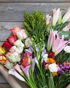 Who wouldn't want a flower subscription? The Bouqs Co.