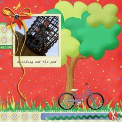 Layout Made with Staycation: At The Park by Mad Genius Designs