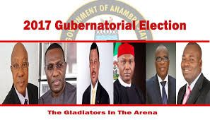 Anambra 2017: Religious politics boils political terrain     By Okechukwu Onuegbu  There is no doubt that the battle to occupy Anambra State government House comes March 17 2018 when tenure of the incumbent governor and candidate of All Progressive Grand Alliance (APGA) Chief Willie Obiano would expectedly end has shifted from zoning to Christian religious denomination.  News8hrs.com observed that the two major Christian religious denominations likely to produce either the governor or the…