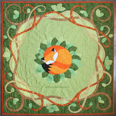 Fox quilt by Morinostory