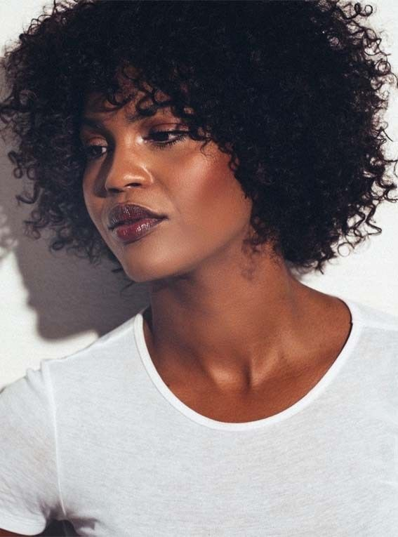 Inspiring Short Curly Hairstyles For Women In 2019 Curly Hair