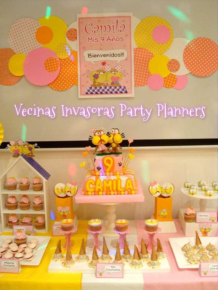 Gaturro Y Agatha Birthday Party Ideas