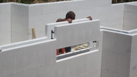 Best 25 insulated concrete forms ideas on pinterest for Icf basement cost