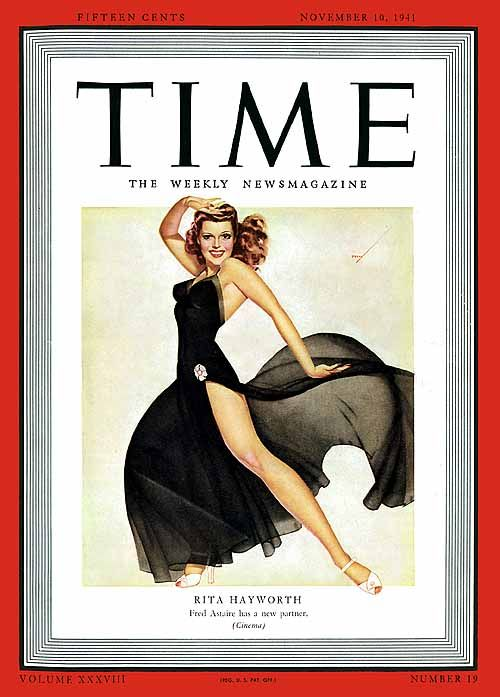 Rita Hayworth by George Petty 1941