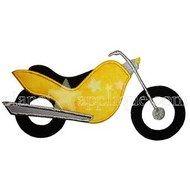 Motorcycle  Applique
