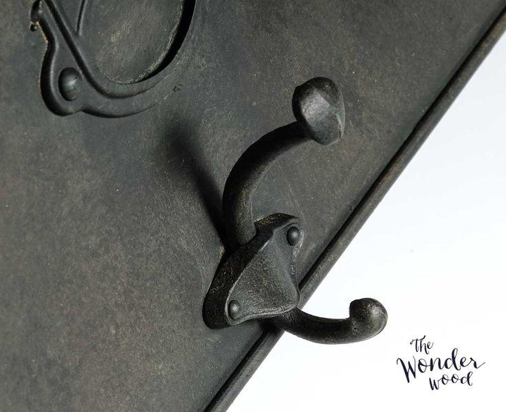 Loft Industrial | http://thewonderwood.com/produkt/belldeco-loft-zegar/