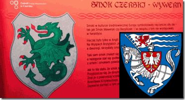 "Baron von Bolschwing was a blood heir of the Order of Brothers of the German House of Saint Mary in Jerusalem commonly the Teutonic Order- the Teutonic Knights, a hierarchical bloodline Teutonic Black Sun ""KNIGHT"". Left, the Wyvern DRAGON– former crest used by the Mazovian Order of the Teutonic Knights close to Warsaw, Poland, country of the Baron's birthplace and birthright to Knighthood."