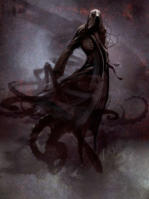 Andrian Luchian | Vizjhanti: Inspirations for Character Concepts -- this is so the dream manifestation of the dark being with whom the villain made a pact!