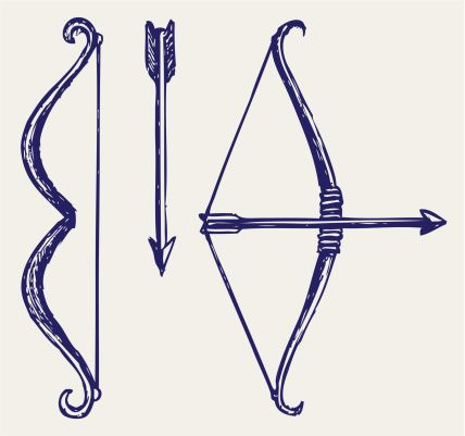 Bow And Arrow Vector Art 155240133