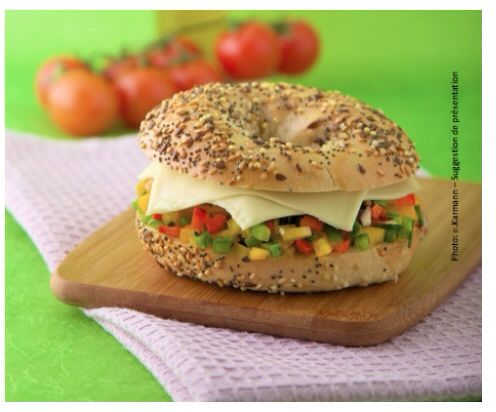 Bagel au Roquefort Societe@