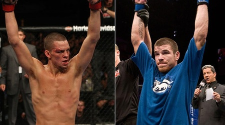 Nate Diaz vs. Jim Miller May 5th !! A must watch fight as 155 weight class fighters host the main event.