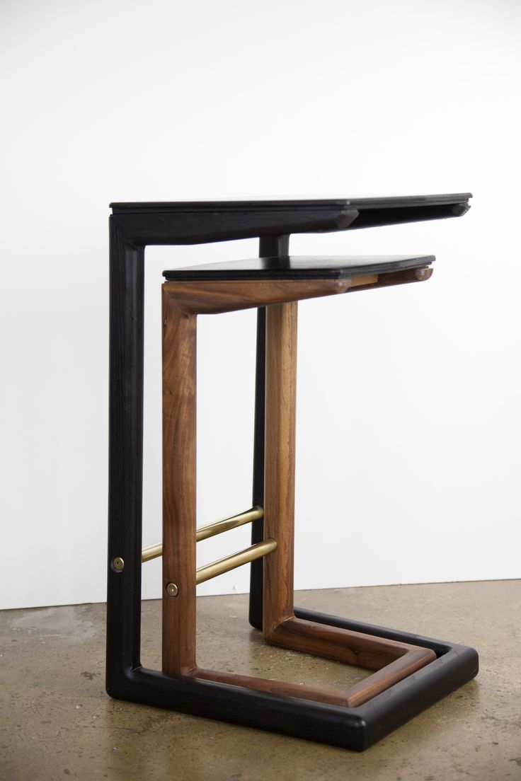 Kan Kan side tables by IRFD.