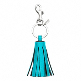 SINGLE LEGACY TASSEL KEY RINGSingle Legacy, Tassels Keys, Legacy Tassels, Keys Rings, Coaches Candies, Coaches Accessories, Fashion Accessories