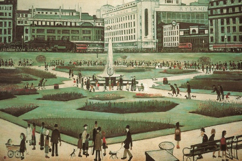 L.S Lowry Piccadilly Gardens