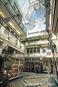 Colorful Manchester - Beautiful Barton Arcade http://www.travelandtransitions.com/destinations/destination-advice/