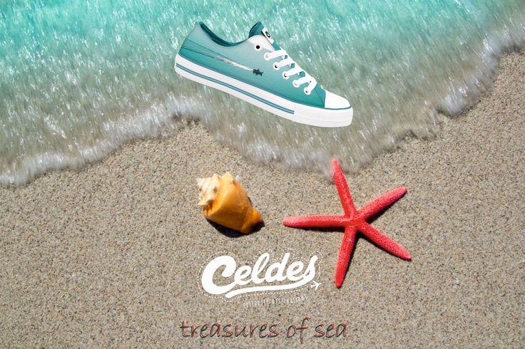 Treasures of sea 🌊  Find yours at: http://celdes.com/all/216-boat-in-the-calm-sea.html #exploreceldes #exploretheworld #seatreasures