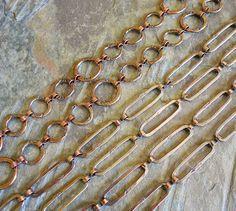 Art Jewelry Elements: More Fun With Chain - catena con anelli ovali, tutorial