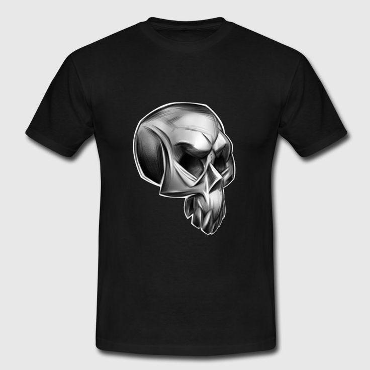 Totenkopf Skull T-Shirt - Männer T-Shirt #Totenkopf_Shirts #Totenkopf_T_Shirts #Schaedel #Totenkopf #Skull #death_metal #bones #skull_design_tshirts #best_skull_shirt, bluelittlebird designs, metal death, skull t-shirts, best skull tees, death metal shirts, Skulls Shirts, metal fans, skull fans, Skull tees, best skull t-shirt, metal shirts, best metal shirts, Totenkopf stilisiert, Totenkopfschädel, Knochen, Skelett #Piraten_T_Shirt #Skate_Punks #Skater_Shirts #Super_Skulls #super_skull