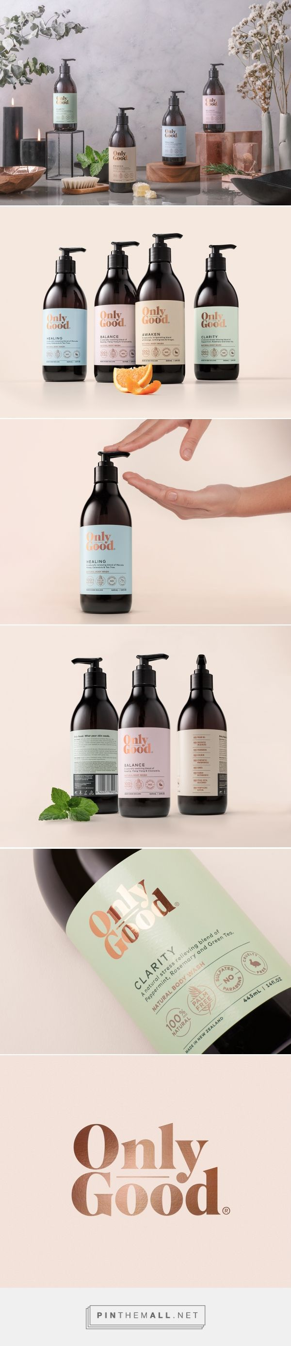 Only Good /  natural body wash by Milk studio