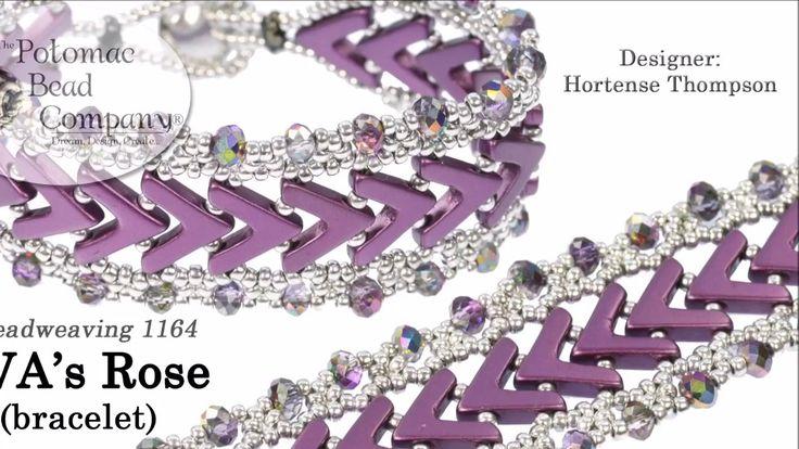 AVA's Rose Bracelet ~ Seed Bead Tutorials