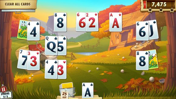 Fairway Solitaire Blast Takes Golf to a Whole New Level of Excitement!