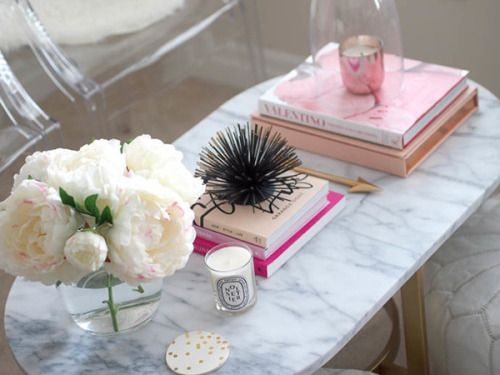 "theglitterguide: "" Coffee Table Styling Tips """