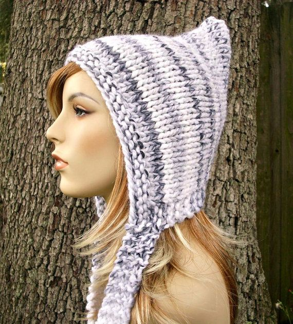 Pixie Hat in White Marble ♡♡