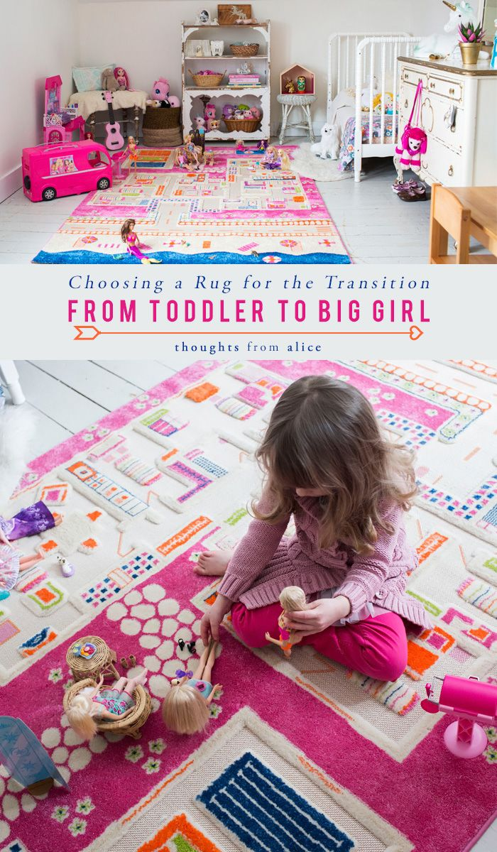Choosing A Rug For The Transition From Toddler To Big Girl