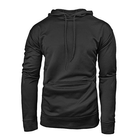 There's no better way to blend in when carrying concealed than by wearing the ever-popular hoodie! In this clever design, we've given you a discreet handgun access point in the hand-warmer pocket.• Constructed of 100% polyester (BK, NA) or polyester blend (GH, HH)• Access point behind front pocket for easy access to belt holster• Hidden pocket on front pouch pocket• Drawstring-adjustable hood for comfortable fit• Clear resin print on elbows for added durability• Drop shoulder seams for ...