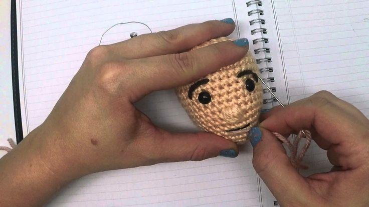 AmiguruME Faces -- Crochet faces on your Amigurumi Dolls by CraftyisCool