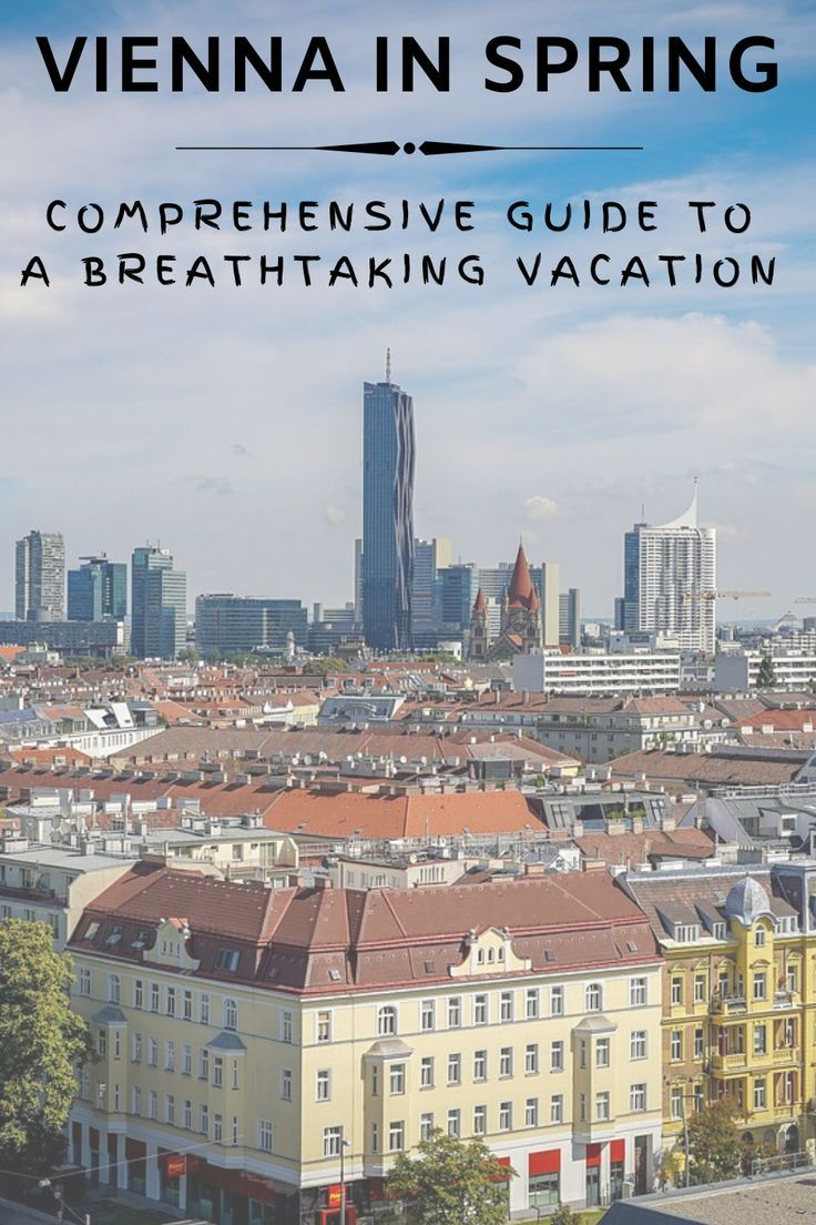 The Best Time To Visit Vienna 5 Arguments For Springtime Dream Book And Travel Europe Travel Guide Europe Travel Travel