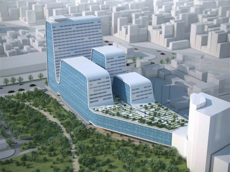 Jinzhou New Area Medical Center / Design Initiatives