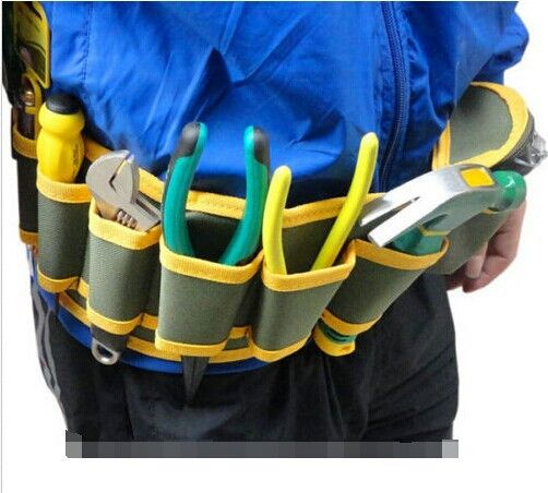 Bolsa New Arrival Summer Style Oxford Tool Bag Electrician Fashion Multi-Pocket Tool Belt Bags 54*13cm Electrician Tool